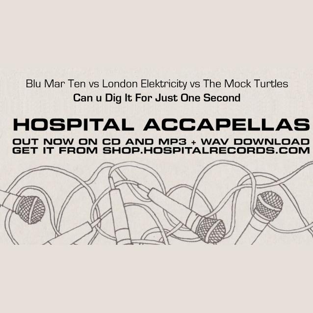 Free Track – Blu Mar Ten Vs London Elektricity Vs The Mock Turtles