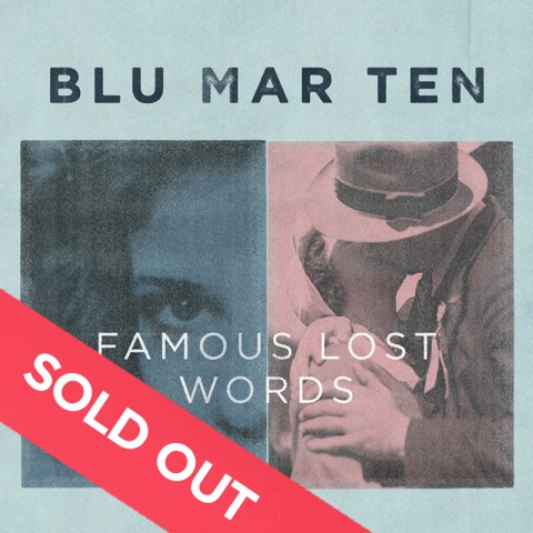 Blu Mar Ten – Famous Lost Words CD