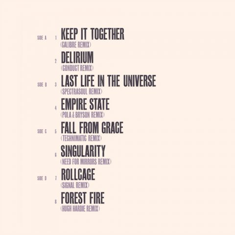 Vinyl Tracklist