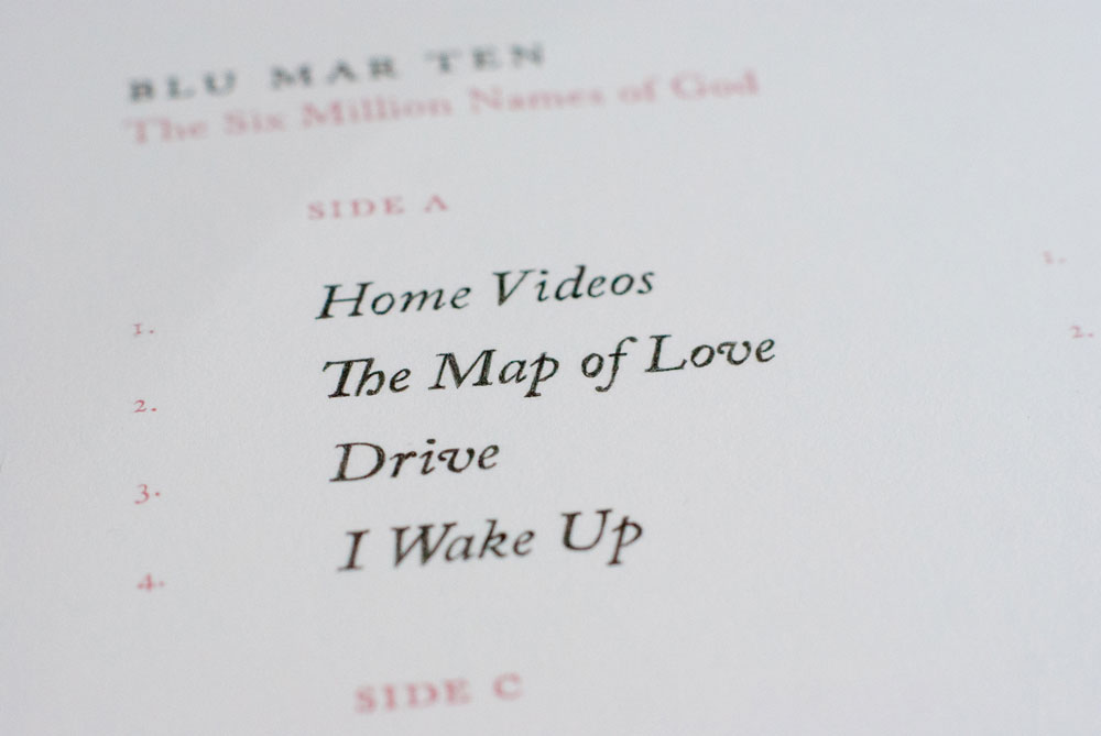 Blu Mar Ten – The Six Million Names of God